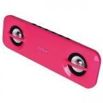 Edifier MP15 Audio Candy 2.0 2W Mini USB Portable Powerbar Dark Pink [NEW]